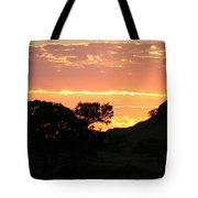 Sunrise Scenery Tote Bag