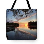 Sunrise Seat - Millinocket Lake Tote Bag