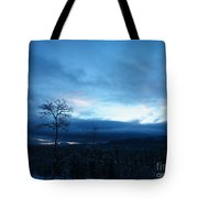 Sunrise Sentinel Tote Bag