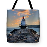 Sunrise Spring Point Ledge Tote Bag