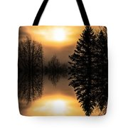 Sunrise-sundown Tote Bag