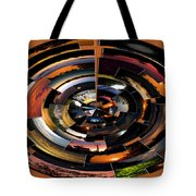 Sunrise Sunsets Polar View Tote Bag