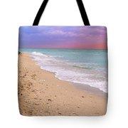 Sunrise Surf At Miami Beach  Tote Bag