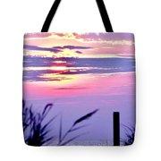 Sunrise Through The Dunes Tote Bag