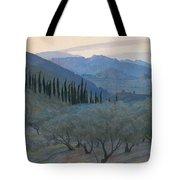 Sunrise Umbria 1914 Tote Bag