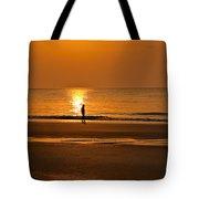 Sunrise Walk Tote Bag