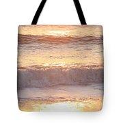 Sunrise Waves Tote Bag