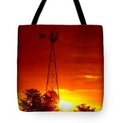 Sunrise Windmill 1 A Tote Bag