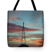 Sunrise Windmill Tote Bag