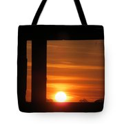 Sunrise Window Tote Bag
