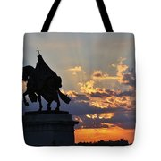Sunrise With Saint Louis The 9th Tote Bag