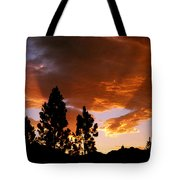 Bitterroot Valley Sunset Tote Bag