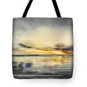 Sunset 384 Panoramic Tote Bag