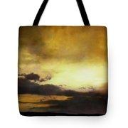 Pouzol Sunset 92 X 122cm Tote Bag