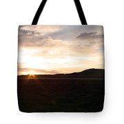 Sunset Across I 90 Tote Bag