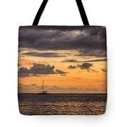 Romantic Sunset Adventure Tote Bag