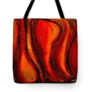 Sunset Amber Tote Bag