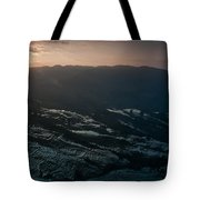 Sunset And Rice Terrace Tote Bag