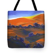 Sunset And Shadow Tote Bag