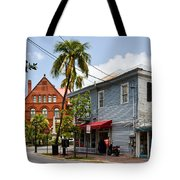 Sunset And Whitehead Tote Bag