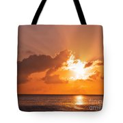 Sunset Tote Bag by Angela Doelling AD DESIGN Photo and PhotoArt