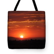 Sunset Antelope Valley B 7-28-2014 Tote Bag