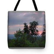 Sunset At Brasstown Bald Tote Bag