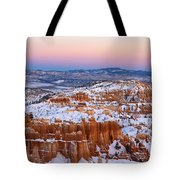 Sunset At Bryce Canyon National Park Utah Tote Bag