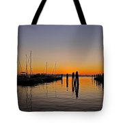 Sunset At Burlington Bay - Vermont Tote Bag