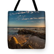 Sunset At Crystal Cove 12 Tote Bag