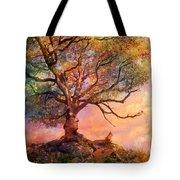 Sunset At Fox Mountain Tote Bag