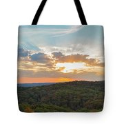 Sunset At Garden Of The Gods Tote Bag
