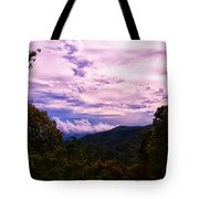 Sunset At Gorges State Park Tote Bag