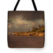 Sunset At Haleiwa Beach Oahu Hawaii V3 Tote Bag
