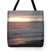 Sunset At Kalaloch Tote Bag