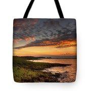 Sunset At Kent Narrows Tote Bag
