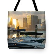 Sunset At Key Biscayne Tote Bag