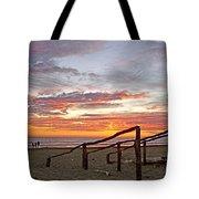 Sunset At Las Glorias Over Sea Of Cortez-sinaloa Tote Bag
