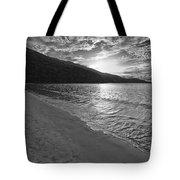 Sunset At Magens Bay Beach Tote Bag
