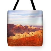 Sunset At Mather Point Grand Canyon Tote Bag