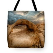 Sunset At Mobius Arch Tote Bag