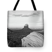 Sunset At Monument Valley, Monument Tote Bag