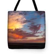 Sunset At Pacific City Tote Bag