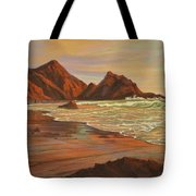 Sunset At Pfeiffer Beach Tote Bag