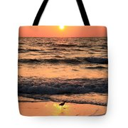 Sunset At St. Joseph Tote Bag