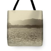 Sunset At Summer Place Tote Bag