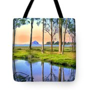 Sunset At Sweet Springs Tote Bag