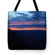 Sunset At The Grand Canyon Tote Bag