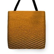 Sunset At The Great Sand Dunes National Tote Bag