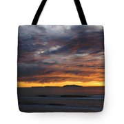 Sunset At The Shores Tote Bag